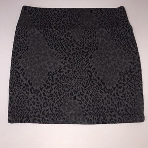 Decree Skirts - Cheetah print mini skirt